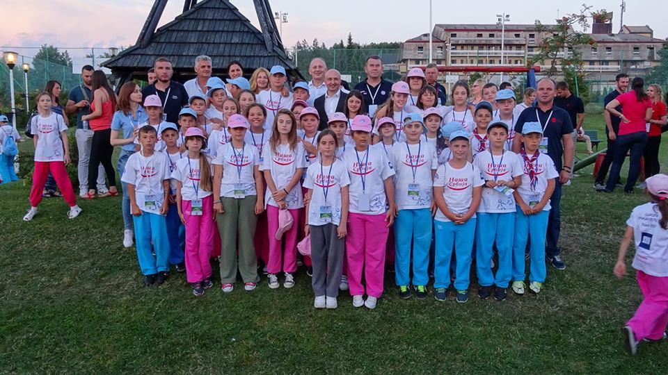 Деца Косова и Метохије у школи пријатељства – Тара 2017